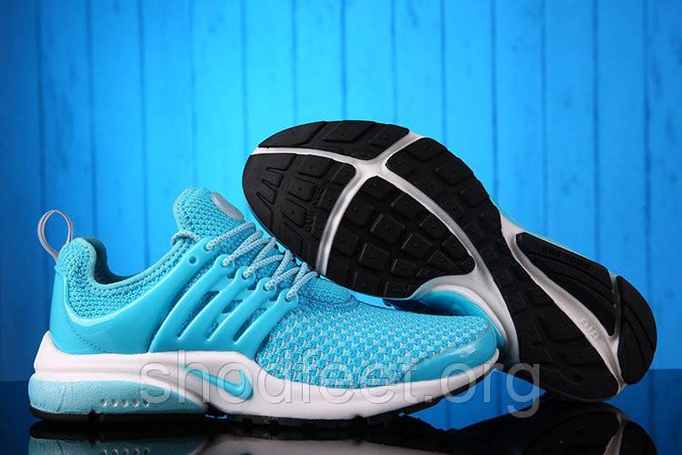 Кроссовки Nike Air Presto Flyknit Blue White