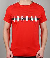 Мужская футболка NIKE Jordan 3892 Красная