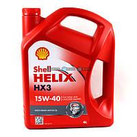 Моторное масло Shell Helix HX3 15W-40 4L