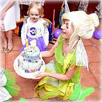 Аниматор Фея Динь динь и Питер Пен на день рождения. Детские праздники, Киев, фото 1