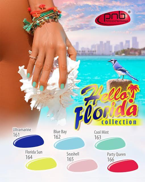 Новая летняя коллекция гель-лаков Hello Florida!