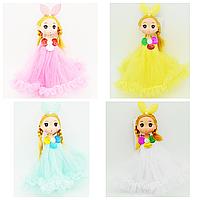 Брелок кукла-невеста Эльза средняя