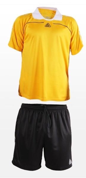 Форма футбольная Liga Sport желто-черная