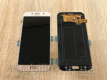 Дисплей на Samsung A720 Galaxy A7(2017) Розовый(Pink),GH97-19723D, Super AMOLED!
