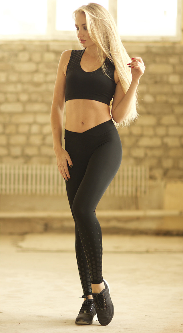 Space Silver топ для фитнеса Designed For Fitness