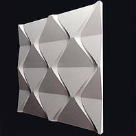"""Декоративная 3д панель """"Пирамидки"""". 3d панель гипсовая."""