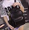 Рюкзак женский кожзам Shelley змеиный принт черный