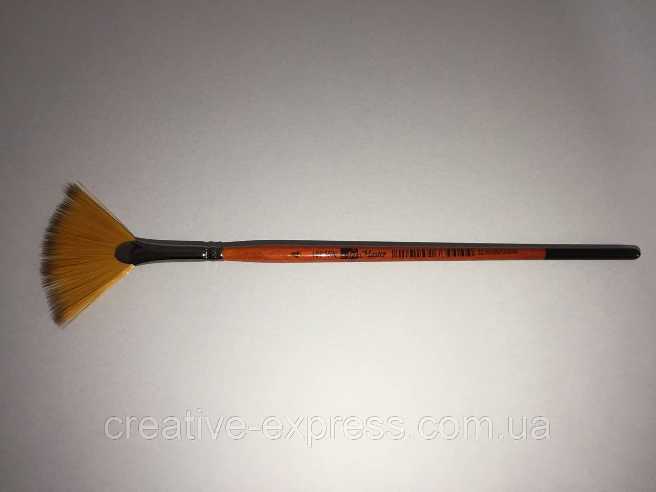 Синтетика віялова ART MASTER 1097FN, № 4, к.р. рижий пензель