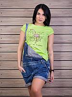 Стильная женская футболка с прорезями на спинке p.42-50 VM1960-2