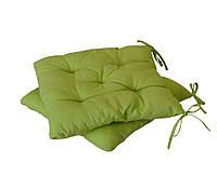 Подушка на стул 40х40см Светло-зеленая ТМ Прованс
