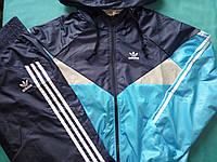Детский Спортивный костюм унисекс плащевка на сетке Размеры 140, 152