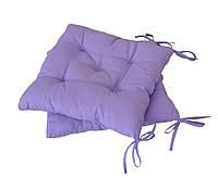 Подушка на стул 40х40см фиолетовая ТМ Прованс