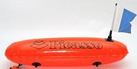 Буй для подводной охоты и дайвинга Picasso Torpedo пикассо торпедо