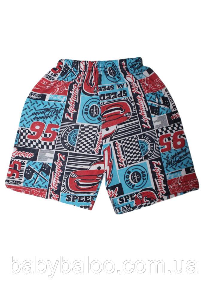 """Детские шорты из хлопка для мальчика  """"Маквин"""" (от 1 до 4 лет)"""