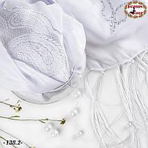 Свадебный палантин Янгол(белый), фото 3