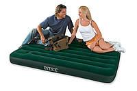 Кровать-матрас туристическая полуторная Intex 66928 (137х191х22 см.)