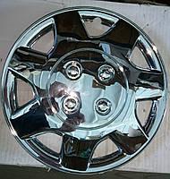 Колпаки  VITOL хром Mirror Fan R13