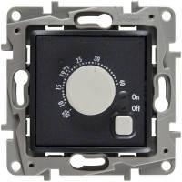 Термостат (терморегулятор) для теплого пола, антрацит, Legrand Etika Легранд Этика