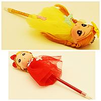 Брелок-ручка кукла-невеста Эльза в платье