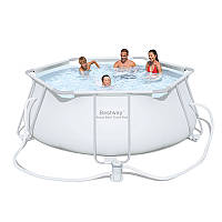 Каркасный бассейн BestWay, 56245 (330*102 см) 6790 литров