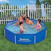 Каркасный бассейн BestWay, 56045 (244*61 см) 1724 литров