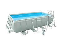 Каркасный бассейн Intex, 28350 (4000*2000*100 см) с фильтр-насосом