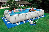 Каркасный бассейн Intex, 28362 (732*366*132 см) с песочным фильтром