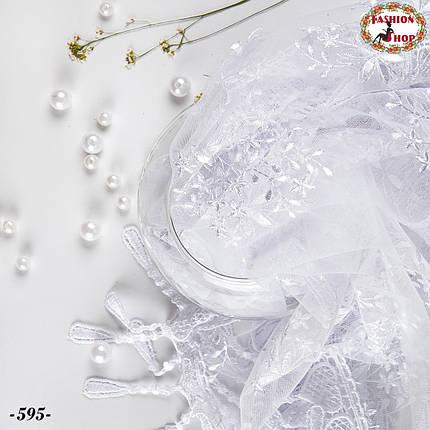 Свадебный платок Вивьен.1, фото 2