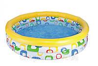 """Детский надувной бассейн Intex, 59419 """"Геометрические фигуры"""""""