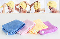BQ22 Полотенце для волос из микрофибры микс APT001090