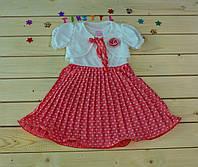 Платье с болеро для девочки 1-3 года