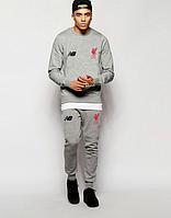 Мужской футбольный спортивный костюм New Balance (люкс копия)