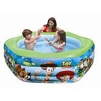 """Детский надувной бассейн Intex, 57490 """"История игрушек"""" (191*178*61 см)"""