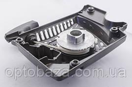 Стартер корпус металл, храповик металл (4 зацепа) для бензопил серии 4500-5200, фото 3