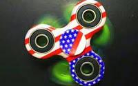 Антисресс Fidget Spinner игрушка Америка (Хенд Спиннер)