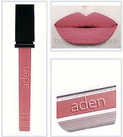 "Aden помада жидкая Суперстойкая Liquid Lipstick 1 Nectarine ""Нектарин"" № 01"