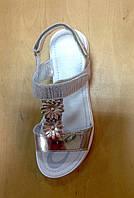 Босоножки для девочки кожаные PRIMIGI бронзовые