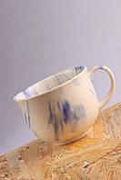 Чашка керамическая, кобальт