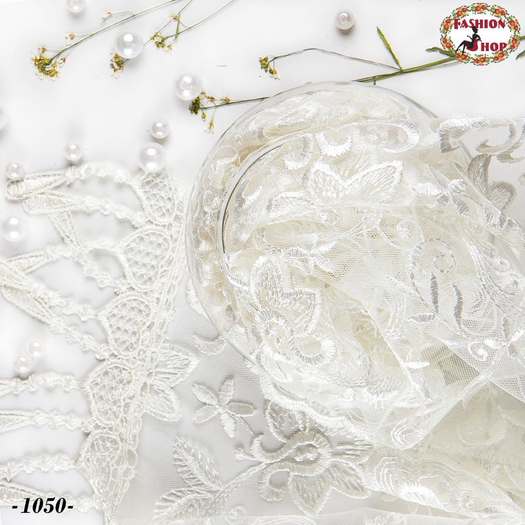 Свадебный шарф айвори Лиза