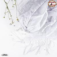 Свадебный шарф Ариана(серый)