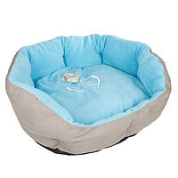 Лежак Karlie-Flamingo Shabby Chic Dog Bеd, текстиль и флис, 45 см