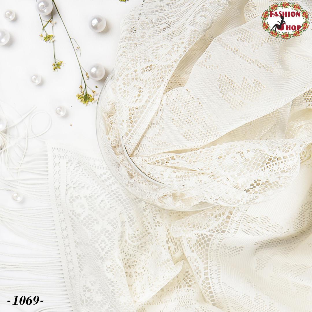 Свадебный шарф Алиса (айвори)
