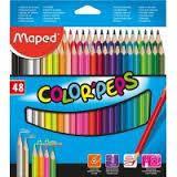 Карандаши цветные трехгранные Color Peps Classic 48 цветов, MP.832048