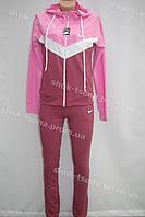 Спортивный трикотажный костюм NIKE розовый 2