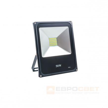 Прожектор Евросвет 50W 2750Lm 6400K IP65 EVRO LIGHT ES-50-01 SMD