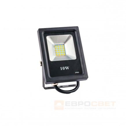 Прожектор Евросвет EVRO LIGHT ES-10-01 10W 550Lm 6400K IP65 SMD