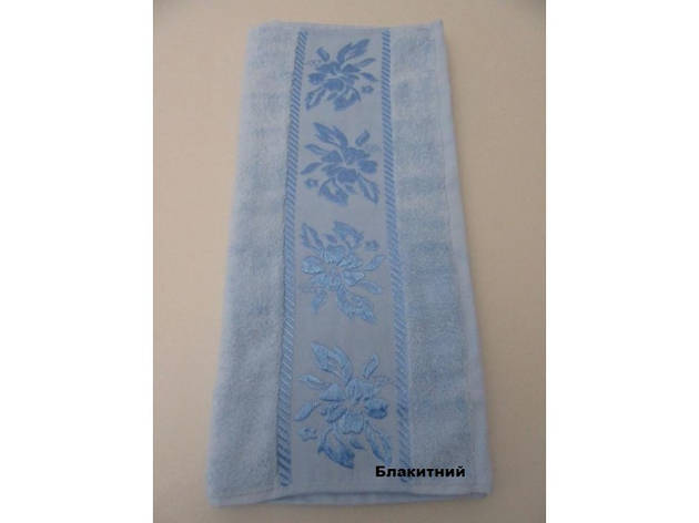 "Полотенце ""Lauren"" голубое 50х90, фото 2"