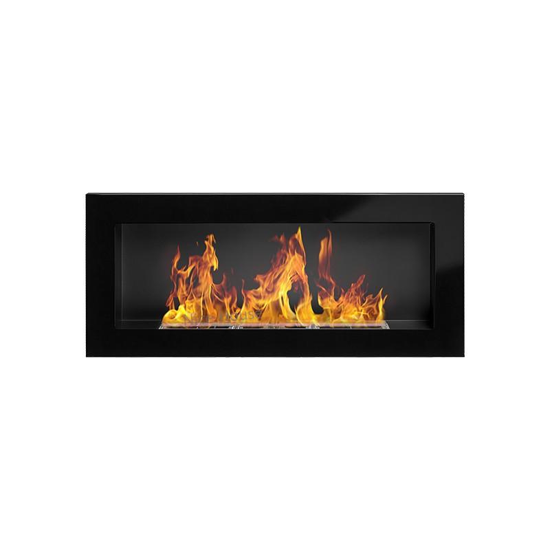 Біокамін Nice-House 900x400 мм-чорний глянець