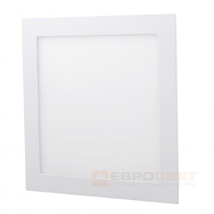 Светильник точечный Евросвет LED-S-300-24 24W 4200К встраиваемый