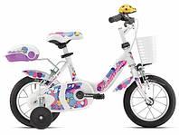 "Детский велосипед BOTTECCHIA GIRL COASTER BRAKE 12"" White"